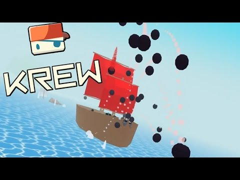 DESTROYER PIRATE CAPTAIN ON THE LEADERBOARD! Total Raft Destruction - Krew.io Gameplay Highlights