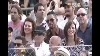 Djokovic vs Nadal   Will Smith bailando men in black 24 11 2013
