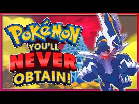 Top 5 Pokémon You'll NEVER Obtain!