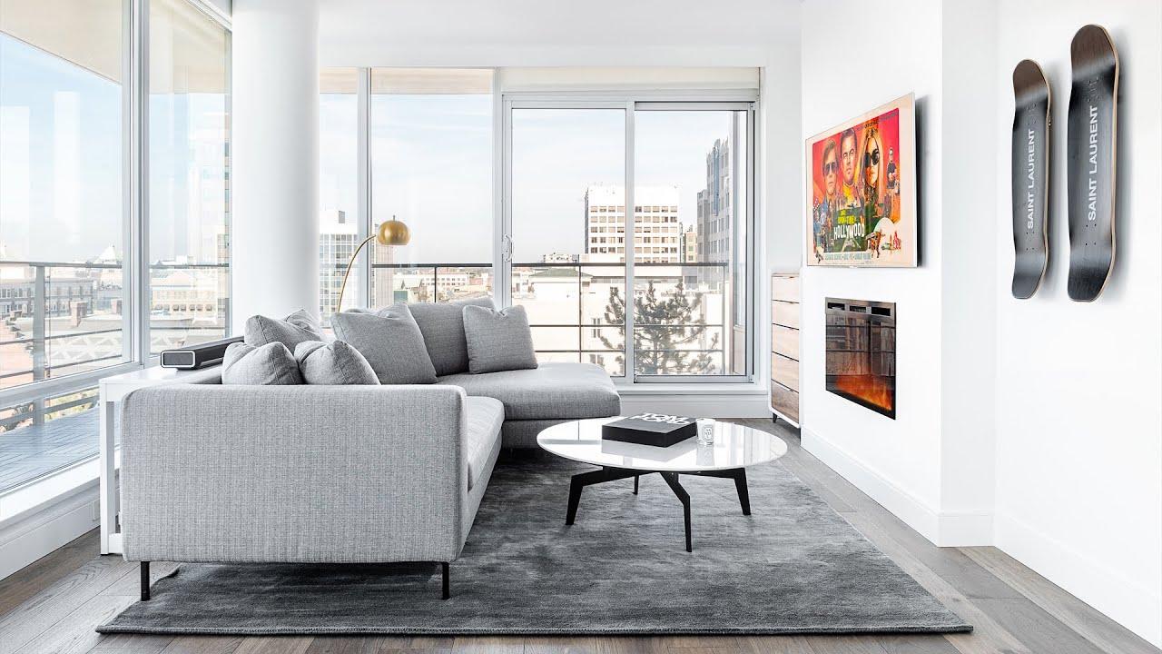 Modern Apartment Living Room Tech Setup Tour!