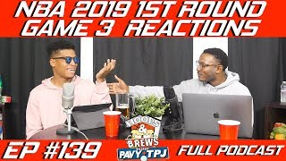 Ep 139: NBA 1st Round Game 3 Reactions | Clippers vs Warriors | (feat. @Urkle9) | Hoops N Brews