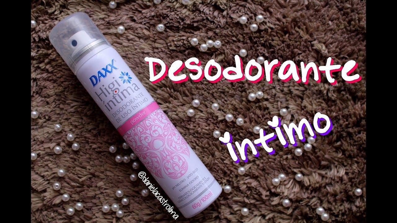1293e6b56 Testei o Desodorante Íntimo Daxx - Por Daniela Castro - YouTube