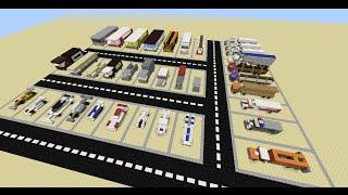 МАШИНЫ в Майнкрафт - 35 МАШИН В MINECRAFT (КАРТА) Без модов(35 машин в Minecraft Вы сможете увидеть на этом видео. Качественно детализирована каждая машина, даже салон у..., 2016-04-27T20:58:44.000Z)