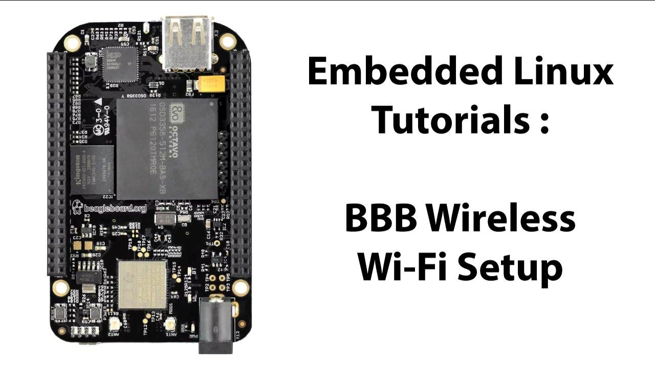 BeagleBone Black Wireless Wi-Fi Setup