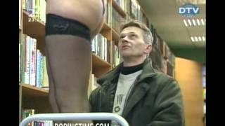 Funny Librarian Prank Hilarious
