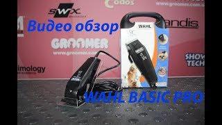 Видео обзор машинки для стрижки животных WAHL BASIC PRO