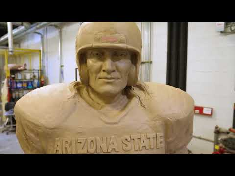 Pat Tillman Statue Unveiled in Sun Devil Stadium
