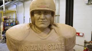 Pat Tillman Statue Unveiled in Sun Devil Stadium thumbnail