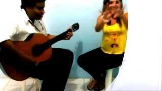 amor ilegal - cover ALMA STAR (Alma Estrella) brisa marina acustico Resimi