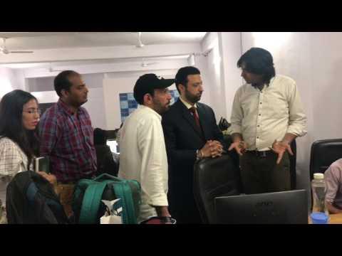 Mr. AMR Shahin from Saudi Arabia at Webpulse Solution (P) Limited, New Delhi office