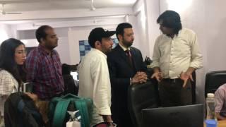 Gambar cover Mr. AMR Shahin from Saudi Arabia at Webpulse Solution (P) Limited, New Delhi office