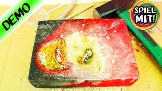ECHTEN METEORITEN AUSGRABEN! Meteorite Dig Kit Ausgrabungsset - Steine aus dem Weltall - Demo