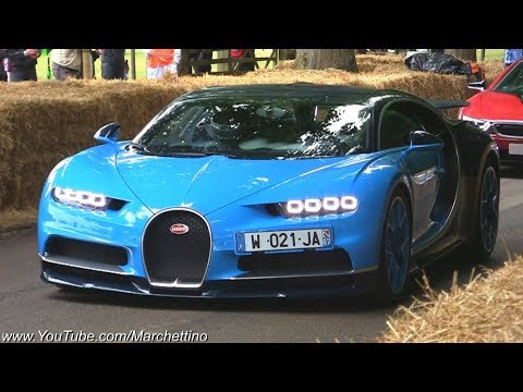 The Bugatti Chiron is Properly FAST! - Full Throttle Accelerations