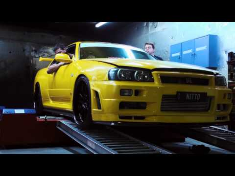 NITTO  |  9.6sec, 1000+AWHP R34 GT-R Skyline