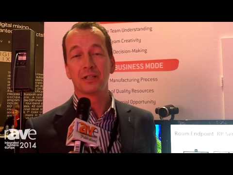 ISE 2014: Huawei Discusses Videoconferencing, Room Presence (German)