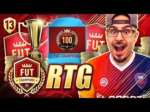 WTF! WE CAN GET TOP 100 ON THE RTG! FIFA 18 Road To Fut Champions! Ultimate Team #14