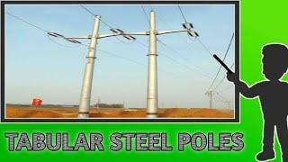 TUBULAR STEEL POLES// TUBULAR STEEL SUPPORTS