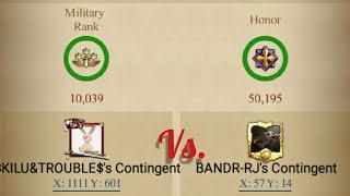 Clash of kings- BK1 BANDR vs. $KILU\u0026TROUBLE$