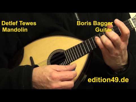 Marcello Bach Adagio Detlef Tewes Boris Bagger Mandolin Guitar Gitarre Oboe Concerto