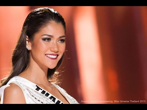 Miss Universe 2015 in evening gown \