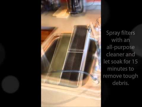 Ionic Comfort Plus-Cleaning your filter