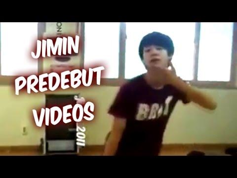 BTS Jimin Predebut Video Compilation