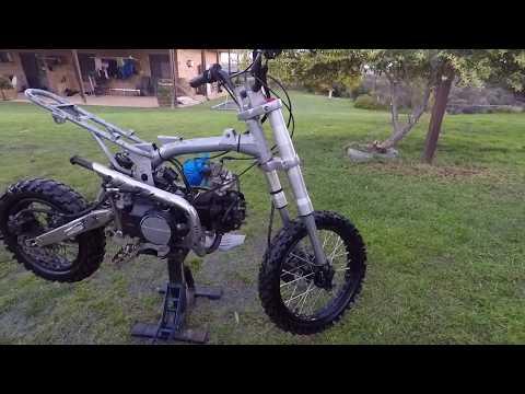 Custom Pitbike build - Teardown - SSR 125