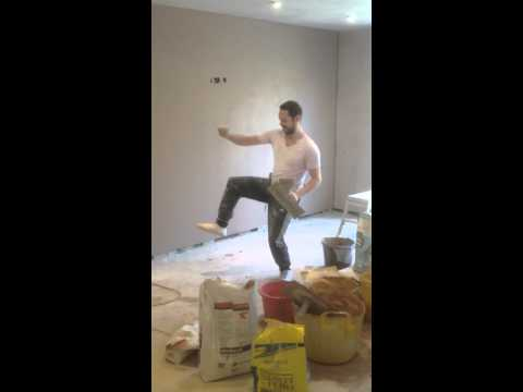 The dancing plasterer