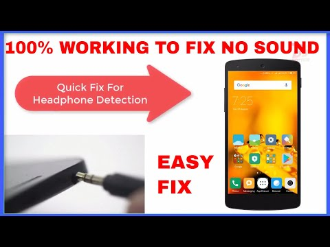 [Solution]100% WORKING FIX No sound from headphone/Earphone Not detecting Issue In any Redmi Device