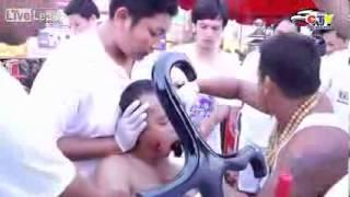 Phim Hong Kong | Video toàn cảnh lễ hội kinh dị tại Thái Lan | Video toan canh le hoi kinh di tai Thai Lan