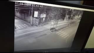 Tata Safari accident Vijayawada.
