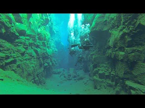VIDEO. Une incroyable session de plongée entre deux plaques tectoniques