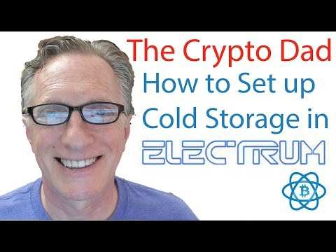 How to Create a Bitcoin Cold Storage Wallet Using Electrum