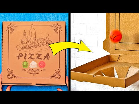39 SIMPLE YET GENIUS HACKS WITH A BOXES