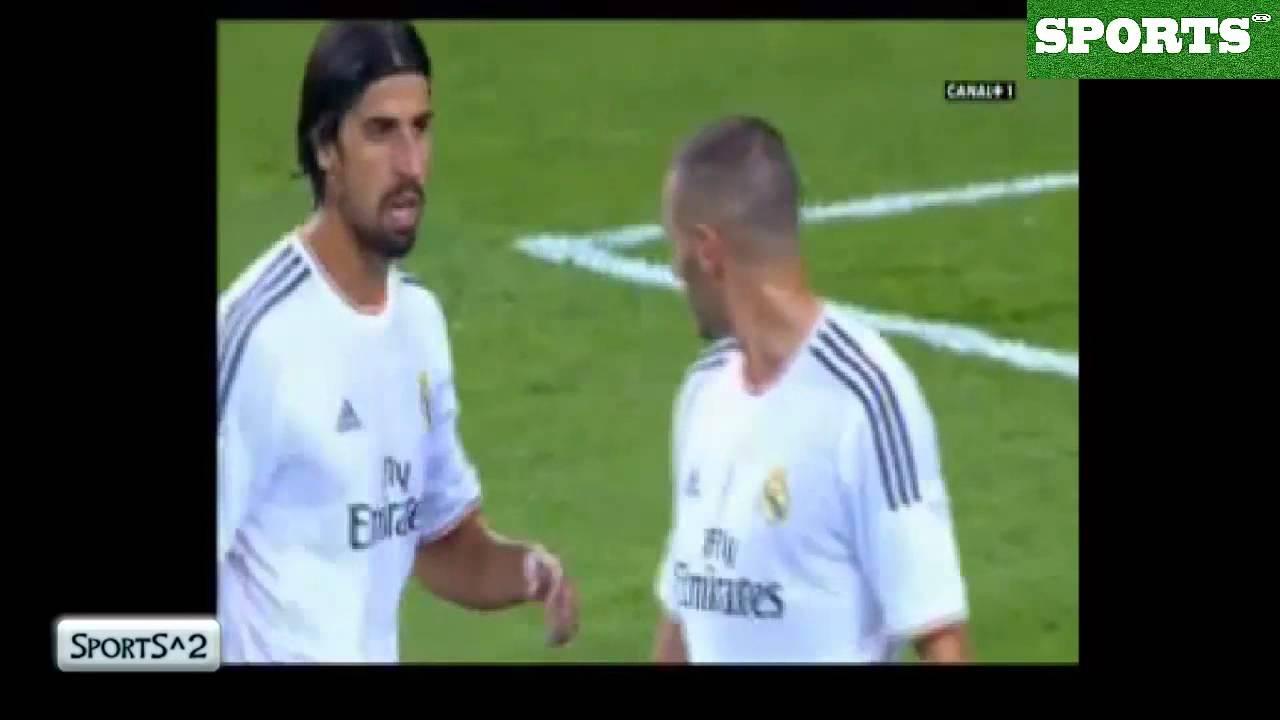Tremenda pelea entre Pepe y Benzema