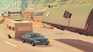 Beamng Drive Movie: Police Convoy Assault (+Sound Effects) |PART 5| - S01E05