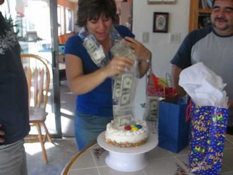 The Money Cake Youtube