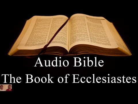 The Book of Ecclesiastes - NIV Audio Holy Bible - High Quality and Best Speed - Book 21