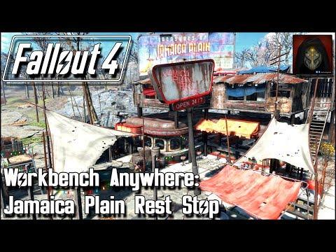 Fallout 4 | JAMAICA PLAIN DINER - Rest Stop Build