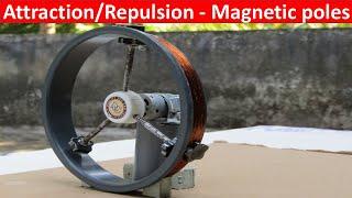 Free energy generator/Magnetic energy-to-Mechanical energy-to-Electrical energy