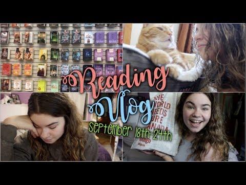 some bad news | Reading Vlog #8: September 18th-24th