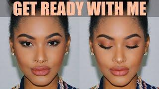 GRWM Baddie Makeup Talk Thru, Hair & Outfit ♥ Slay Tutorial   BeautyByCarla
