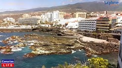LIVE WEBCAM from Playa de SanTelmo Puerto de la Cruz Tenerife