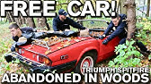 Detailing Free Disgusting Car Parked in Woods: 1979 Triumph Spitfire