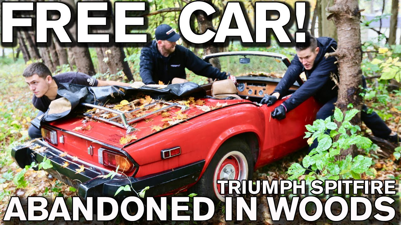 Download Detailing Free Disgusting Car Parked in Woods: 1979 Triumph Spitfire