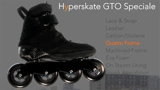The 'Super Car' Of Inline Skates?   Adapt Hyperskate GTO Speciale Review