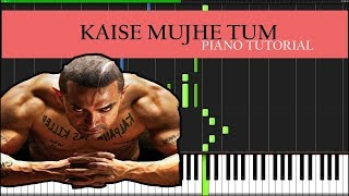 Kaise Mujhe Tum(Easy) Piano Tutorial
