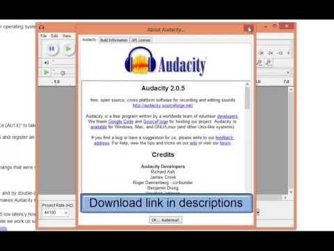 Audacity: Free Audio Editor