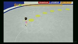Deca Sports Nintendo Wii Gameplay - Figure Skating