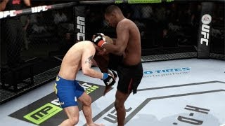 EA SPORTS UFC Demo - :30 Second Knockout! | Deadly Knees From The Clinch